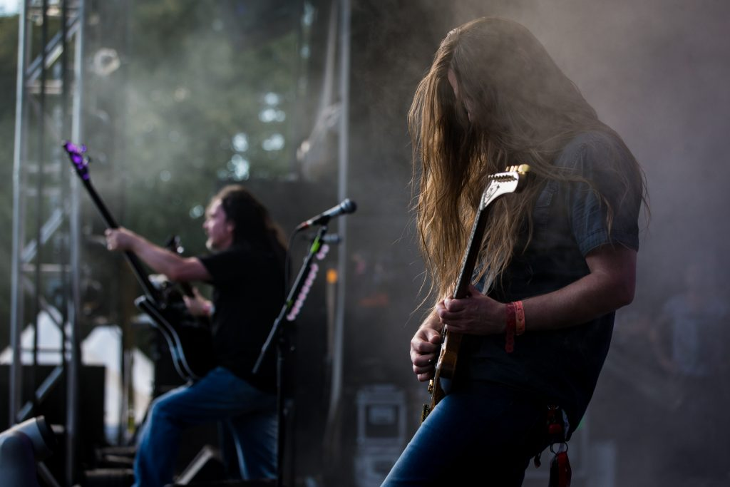 MONTREAL, QUE.: August 6, 2016-- Carcass perform during the first day of the 2016 Heavy Montreal festival at Parc Jean Drapeau on Saturday August 6, 2016.  (Tim Snow / EVENKO MANDATORY CREDIT)