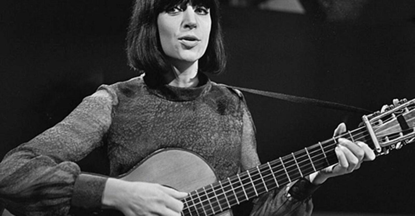 Anne Sylvestre, au Fanclub 1965