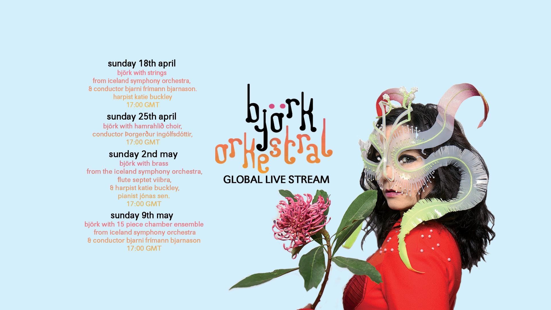 Björk Orchestral Global Livestream