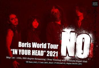 Boris world Tour
