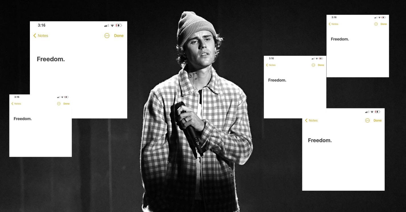 Freedom-Justin-Bieber-cover-Eloïse-Léveillé-Le-Canal-Auditif