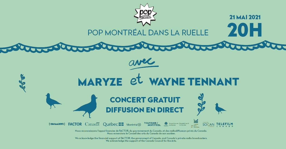 Pop Montréal Ruelle