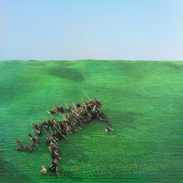 Bright Green Field