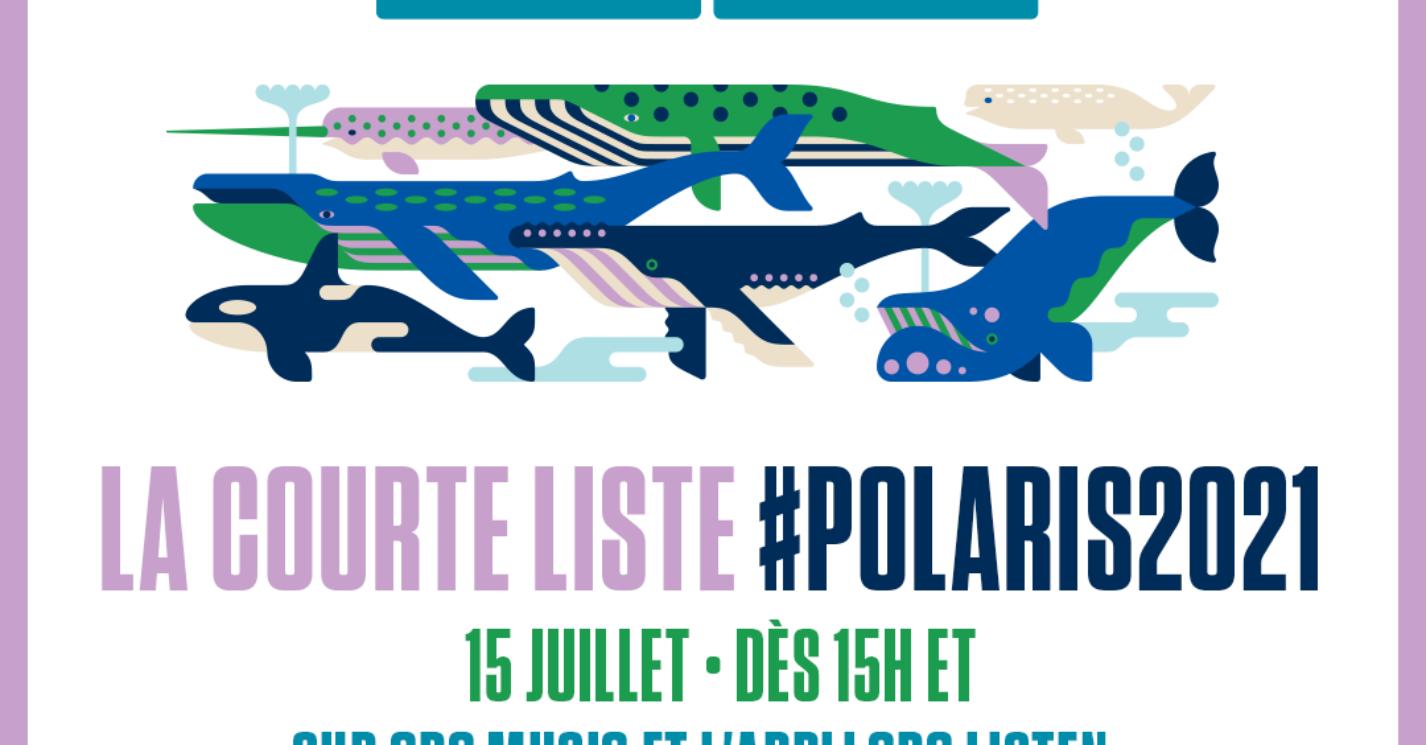 courte liste polaris 2021