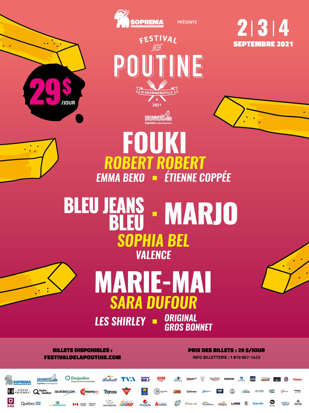 festival poutine 2021